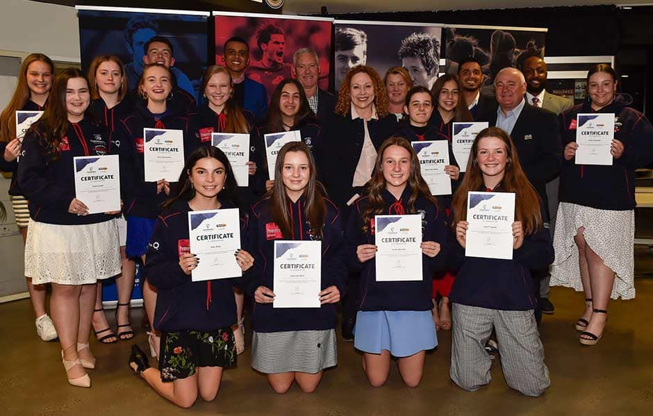 This year, the program spanned across 13 local government areas and involved students aged between 14 and 16. - Western Bulldogs