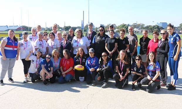 The campaign, which was launched in late-March, is a local version of the campaign by Sport England which inspired 3.9 million British women to get involved. - Western Bulldogs