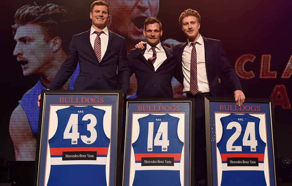 The Western Bulldogs said goodbye to retirees Jack Redpath, Shane Biggs & Clay Smith in 2018. - Western Bulldogs