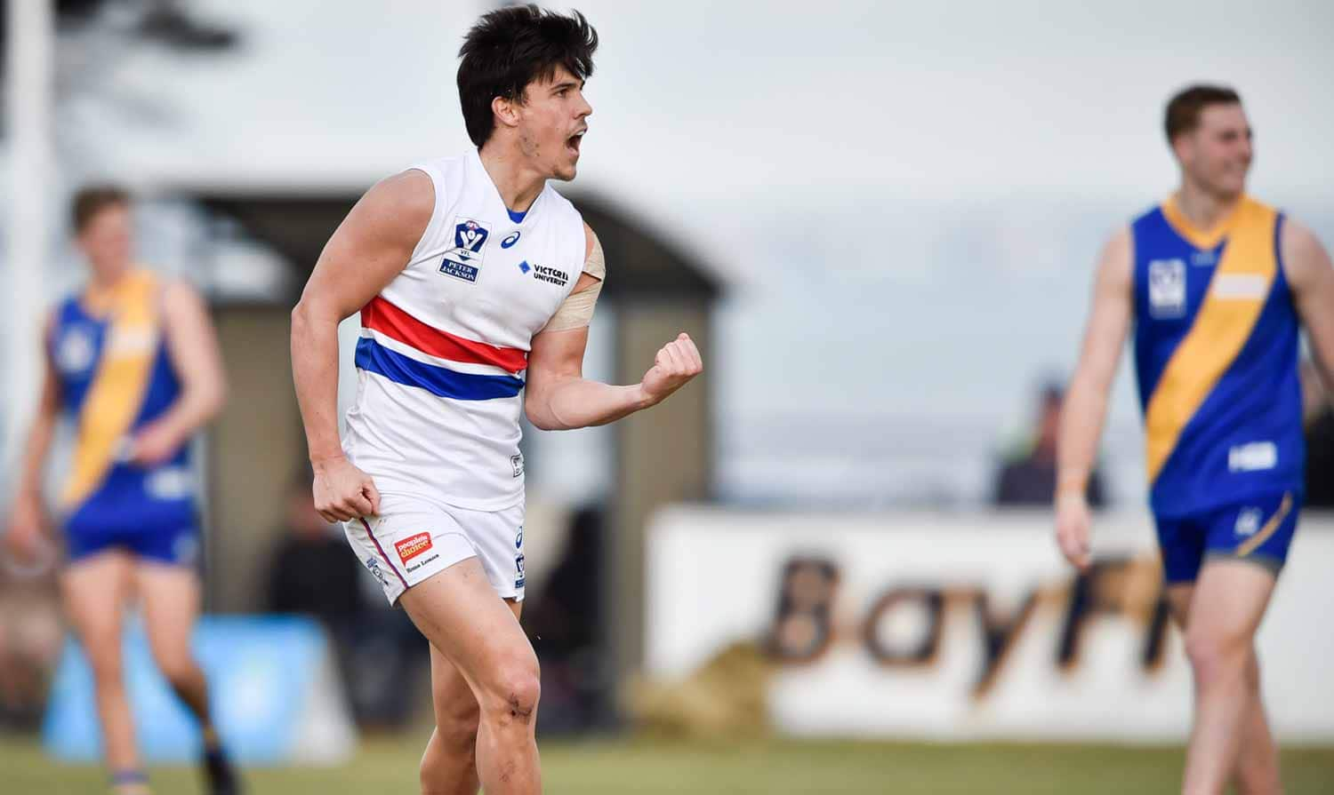 westernbulldogs.com.au takes a look at this year's key VFL stats leaders (Photo: Liz Vagg/Western Bulldogs) - Western Bulldogs