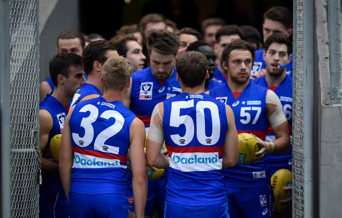 The Footscray Bulldogs will take on Collingwood's VFL side, tihs Friday afternoon at Olympic Park. (Photo: Liz Vagg/Western Bulldogs) - Western Bulldogs,VFL