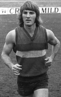 Geoff Jennings (above) in his playing days at the Kennel.