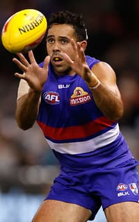 AFL 2015 Rd 07 - Western Bulldogs v Fremantle