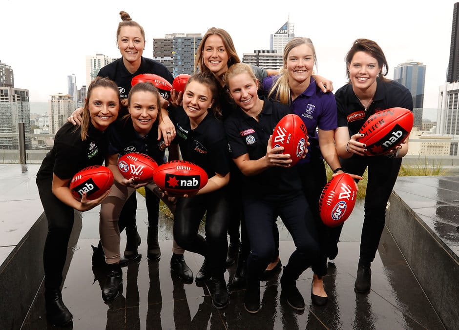 The top eight women taken in the inaugural AFLW draft - AFLW