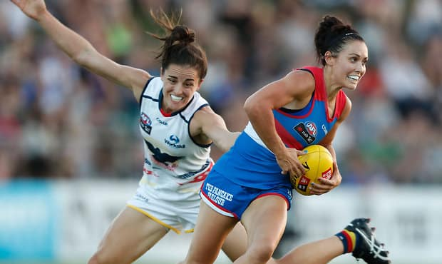 Everything you need to know ahead of Saturday afternoon's clash with the Adelaide Crows below. (Photo: AFL Media) - Western Bulldogs,AFLW