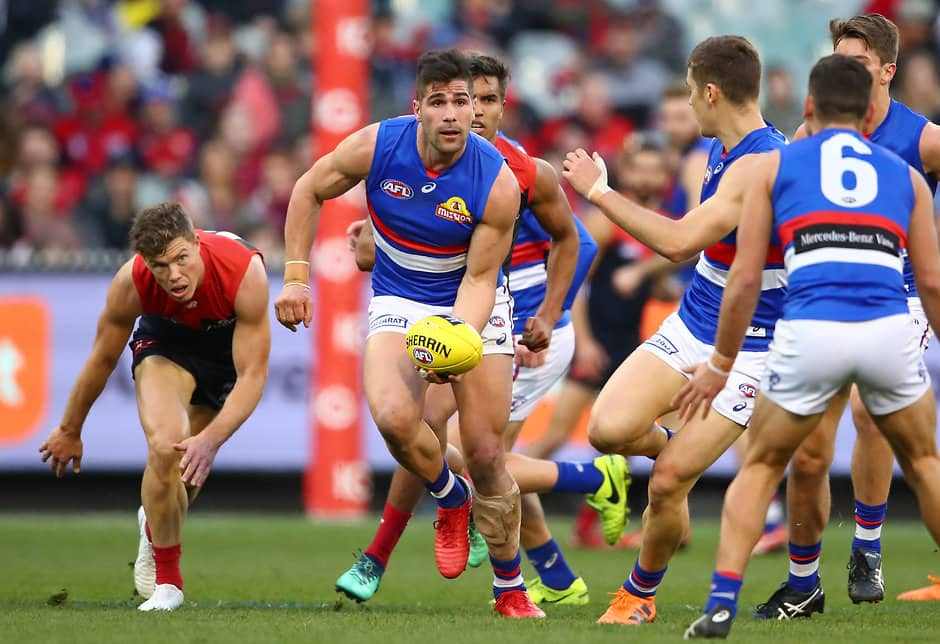 Bulldogs defender Marcus Adams is expected to join the Lions - AFL,Trade,Contracts,Marcus Adams,Western Bulldogs,Brisbane Lions