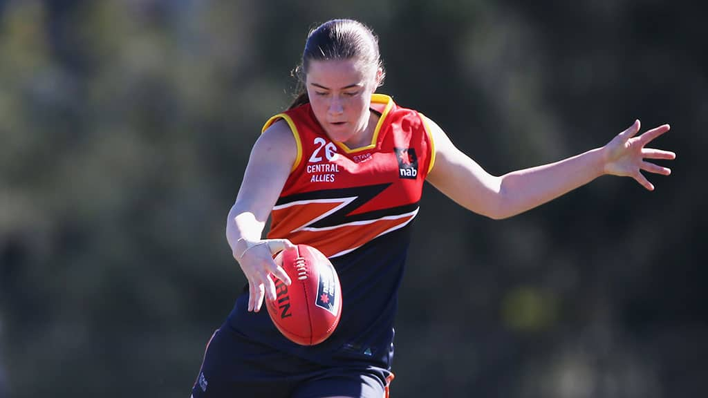 Katelyn Rosenzweig will wear No.1 at Adelaide in tribute to her late teammate Maggie Varcoe - AFLW,Adelaide Crows