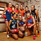 AFLW uniform launch