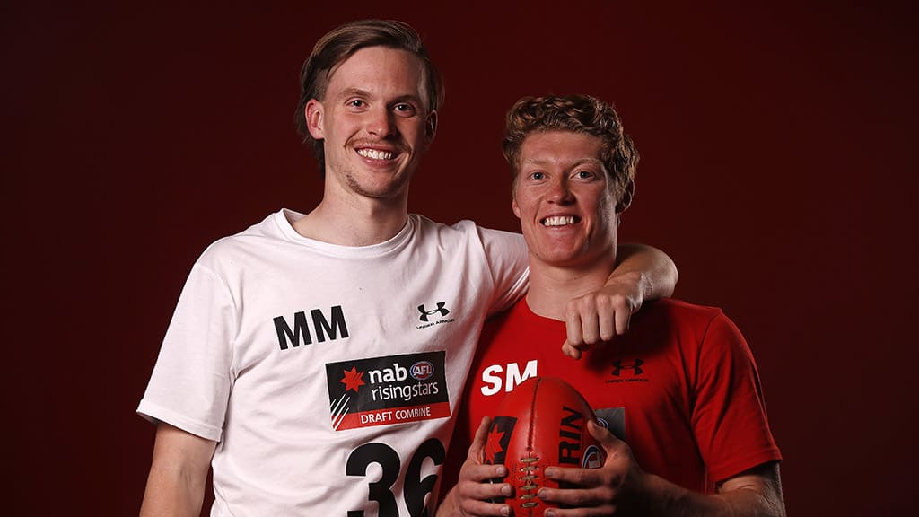 Noah Anderson and Matt Rowell are likely to be the Suns' top-two picks. All pictures: AFL Photos - AFL,Gold Coast Suns,Draft,Tag-Draft,Game,News,Update