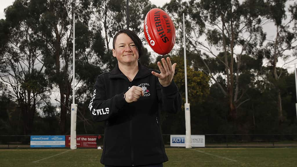 Brooke Fox is the winner of  the 2019 Swisse Best off Ground Award - AFL,AFLW,Community,Lifestyle,Inspire,Branded