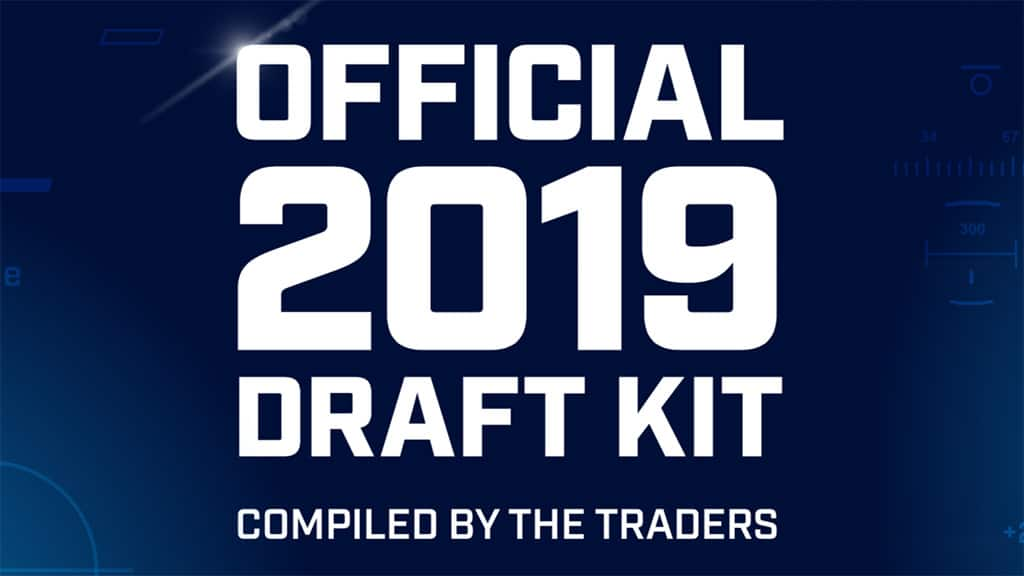 The Traders' 2019 Fantasy Draft Kit is here