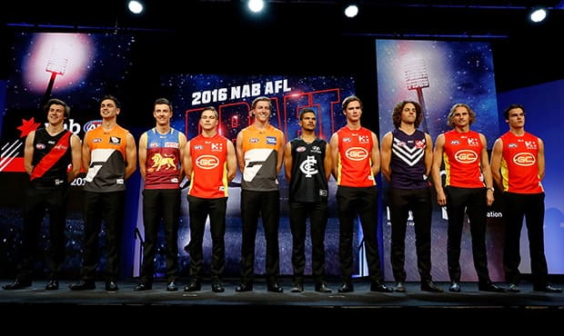 Your club's draft picks as they stand - AFL,Trade,Free Agency,Contracts,Draft,Adelaide Crows,Brisbane Lions,Carlton Blues,Collingwood Magpies,Essendon Bombers,Fremantle Dockers,Geelong Cats,GWS Giants,Gold Coast Suns,Hawthorn Hawks,Melbourne Demons,North Melbourne Kangaroos,Richmond Tigers,Port Adelaide Power,St Kilda Saints,Sydney Swans,Western Bulldogs,West Coast Eagles