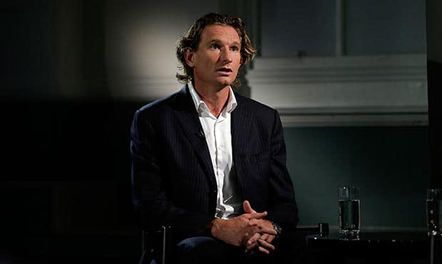 James Hird speaks for the first time since the CAS decision. Picture: Getty Images