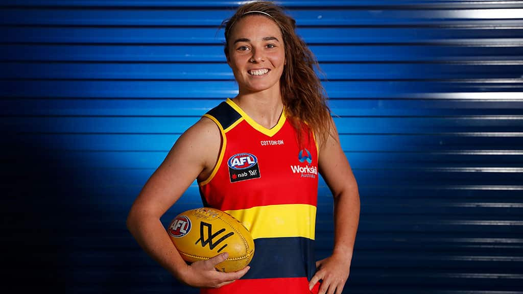 Adelaide's Jenna McCormick - AFLW,Adelaide Crows,Jenna McCormick