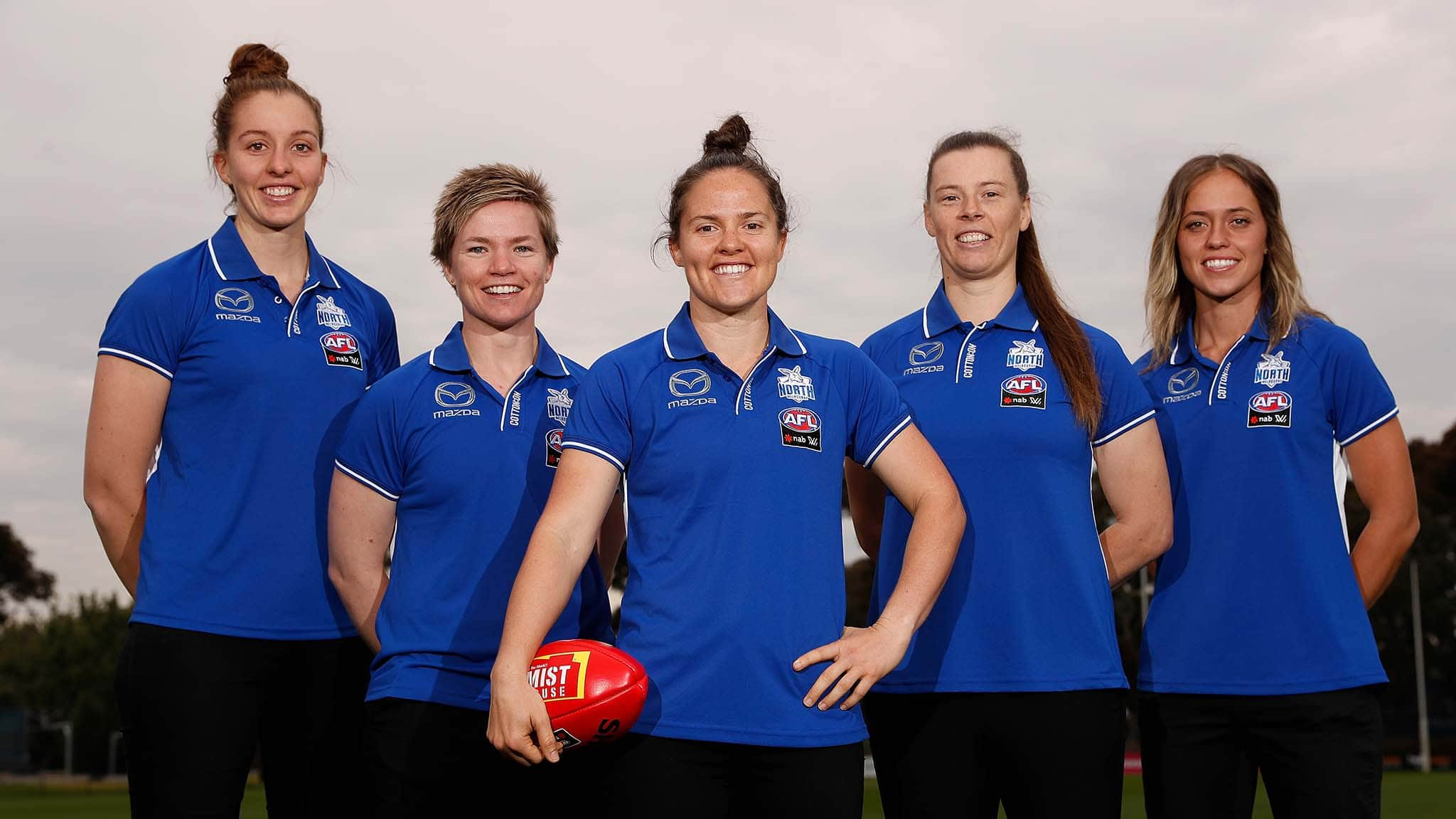 Emma Kearney will lead the Roos into battle in 2019 - AFLW,North Melbourne Tasmanian Kangaroos,Emma Kearney
