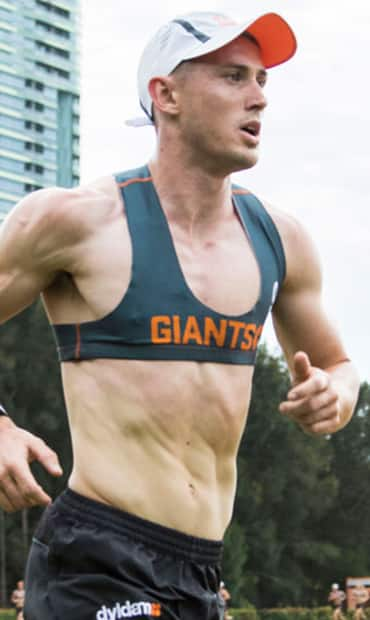 Tom Scully has retained his crown as the Giants' time-trial king. Picture: gwsgiants.com.au - AFL,GWS Giants,Tom Scully