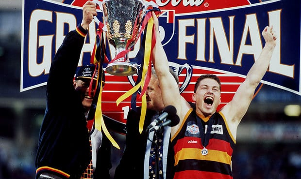 Mark Bickley is Adelaide's only premiership captain - Adelaide Crows,Mark Bickley,Grand Final