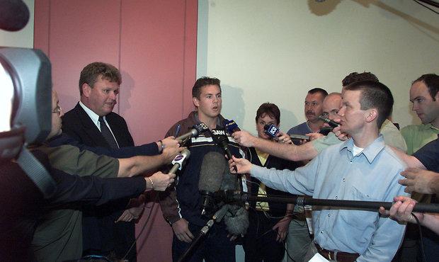 AFL 2001 Media - AFL National Draft 251101