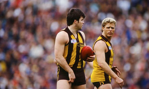 Jason Dunstall and Dermott Brereton are both within Hawthorn's top 10 goalkickers of all time.