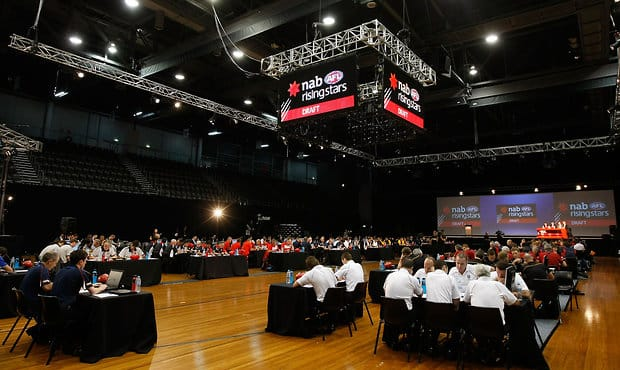 See how all the picks stack up heading into the 2017 National Draft - Adelaide Crows