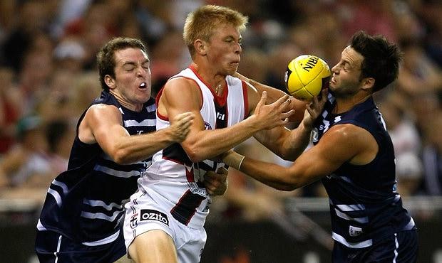 AFL 2012 NAB Cup Rd 01 - Geelong v St Kilda