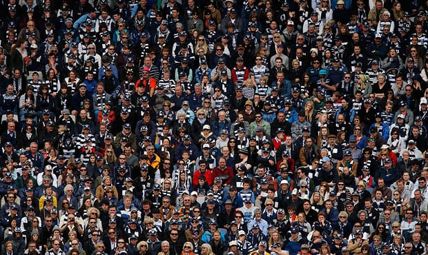 AFL 2013 2nd Qualifying Final - Geelong v Fremantle