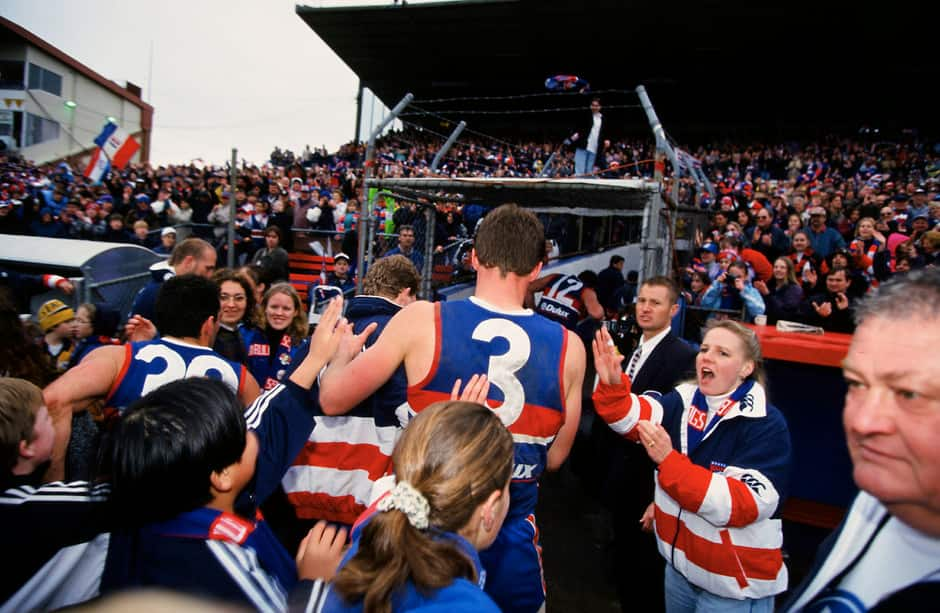 Where does the last game at Whitten Oval rank in the most significant moments of the past 30 years since the Fightback? - Western Bulldogs