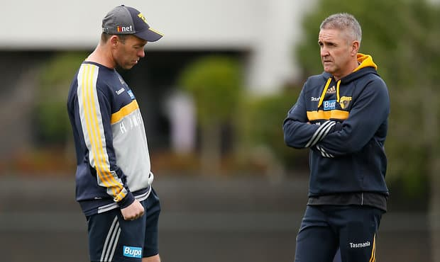Brisbane Coach Chris Fagan has some supportive words for his former colleague.