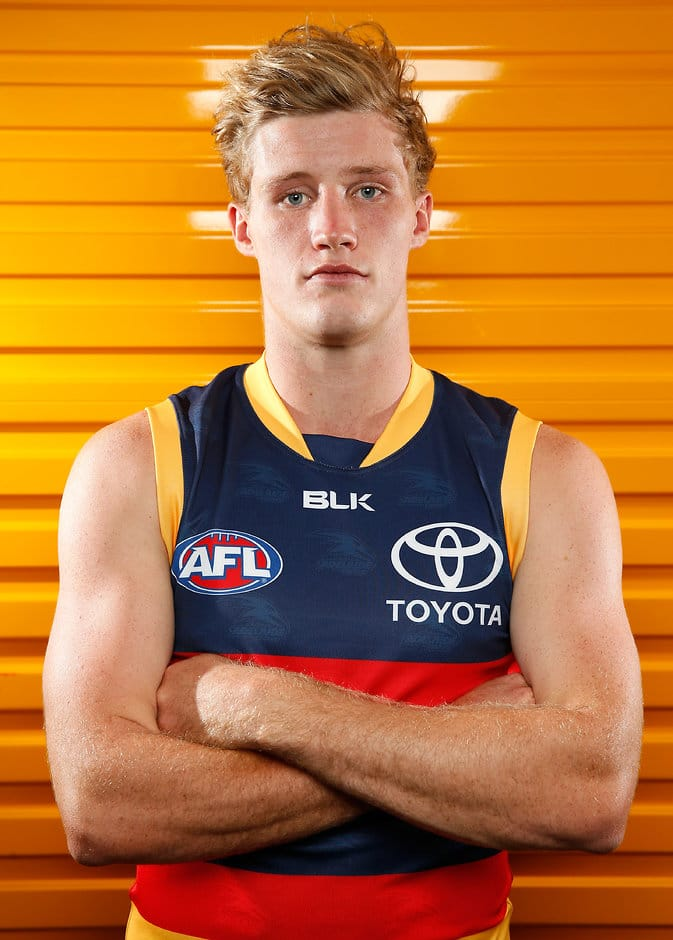 Harrison Wigg has joined the Suns - AFL,Trade,Gold Coast Suns,Adelaide Crows,Harrison Wigg