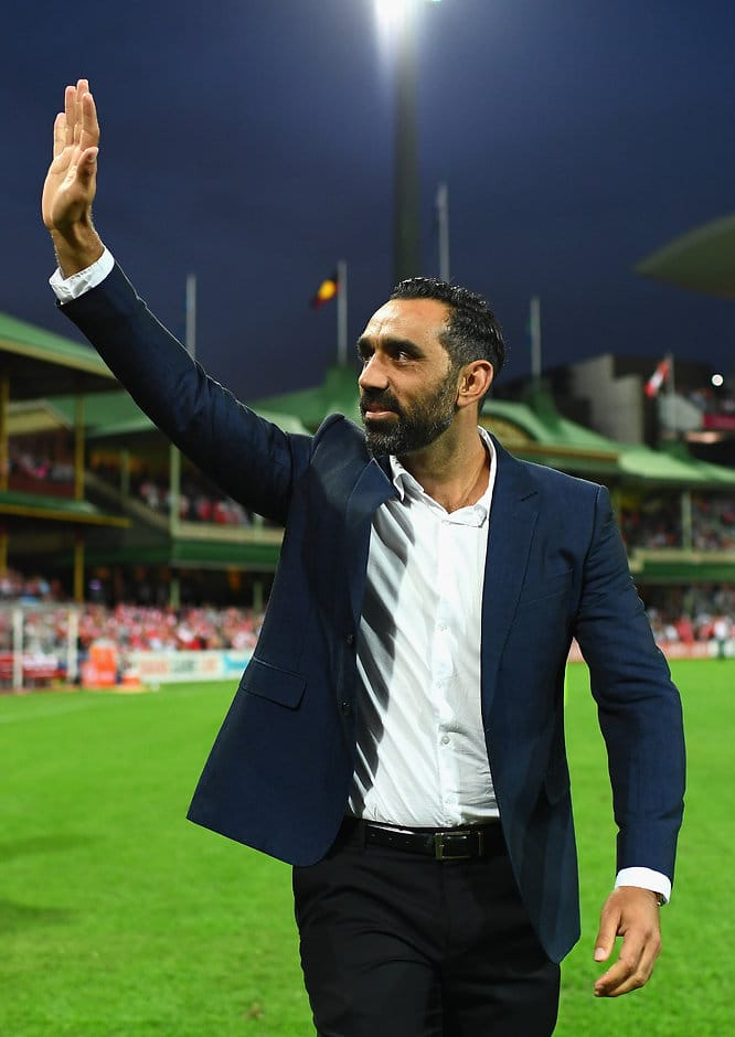 The AFL Commission denies it has approached Adam Goodes to join - ${keywords}