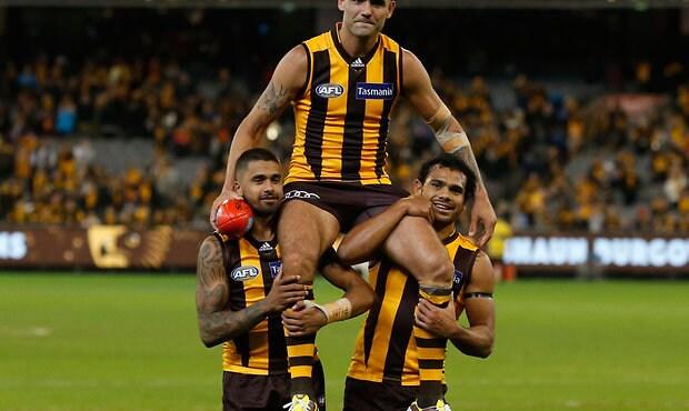 AFL 2016 Rd 05 - Hawthorn v Adelaide