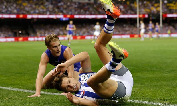 AFL 2016 Rd 06 - North Melbourne v Western Bulldogs
