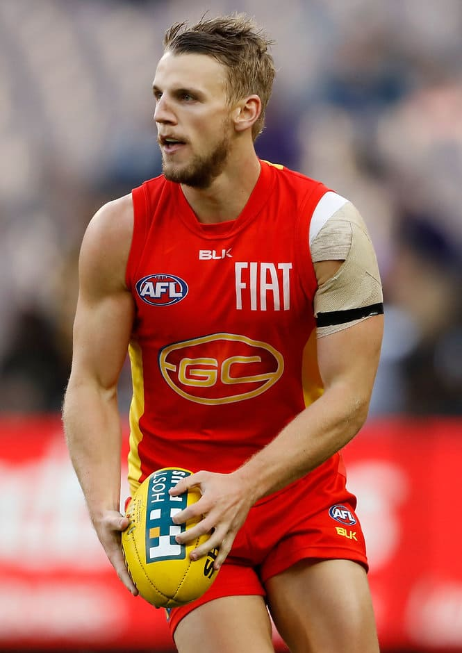 Trent McKenzie has been delisted by the Suns - AFL,Delistings,Trent McKenzie,Daniel Currie,Matt Shaw,Mackenzie Willis,Gold Coast Suns