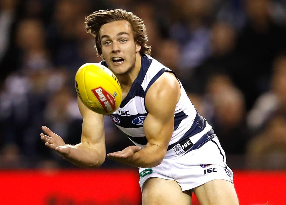 Cory Gregson hopes he's made a full recovery from his foot issues - AFL,Geelong Cats,Cory Gregson