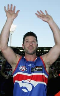 Rohan Smith (above) played 300 games exactly for the Western Bulldogs. - Western Bulldogs
