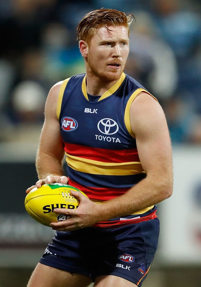 Kyle Cheney is one of three Crows to sign on - AFL,Contracts,Adelaide Crows,Kyle Cheney,Ben Jarman,Paul Hunter