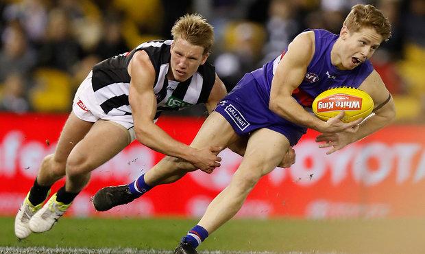 AFL 2016 Rd 21 - Western Bulldogs v Collingwood