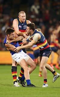 AFL 2016 Rd 23 - Adelaide v West Coast