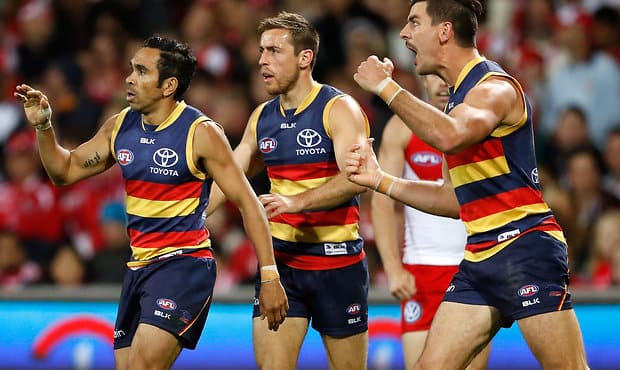 Adelaide will be looking for retribution against the Swans on Friday night