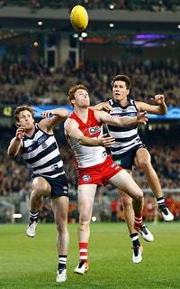 AFL 2016 Second Preliminary Final - Geelong v Sydney