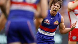 Concussion battle gets the better of Bulldogs flag hero