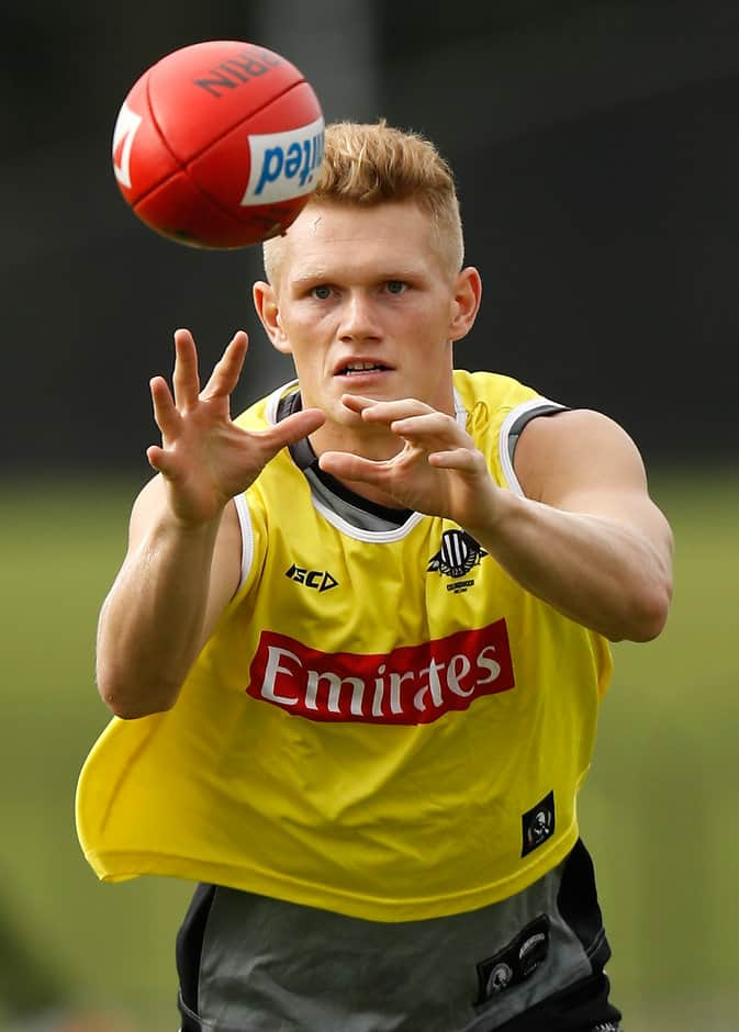 Collingwood says Adam Treloar will be right to take on the Swans on Friday - ${keywords}