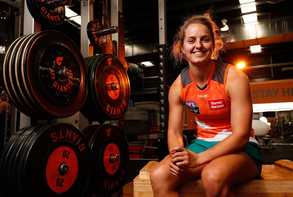 Ellie Brush has decided to dedicate herself to football ahead of soccer - AFLW,Ellie Brush,GWS Giants,Richmond Tigers,Melbourne Demons