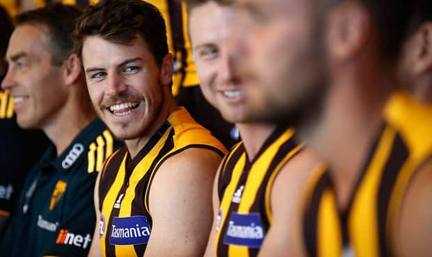 AFL 2017 Media - Hawthorn Hawks Team Photo Day