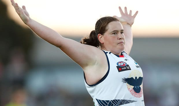 Sarah Perkins will trek Base Camp Everest in October for the Crows Children's Foundation