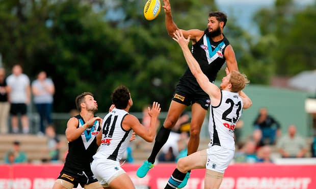 AFL 2017 Training - Port Adelaide Intra-Club