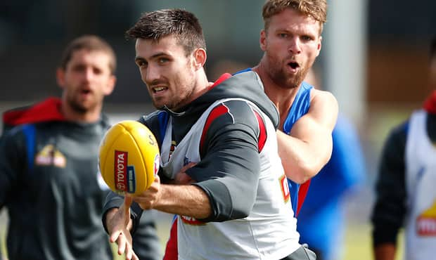 AFL 2017 Training - Western Bulldogs 200217