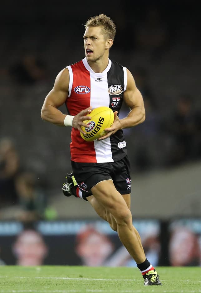 Sean Dempster played 222 games for the Saints and Swans - ${keywords}