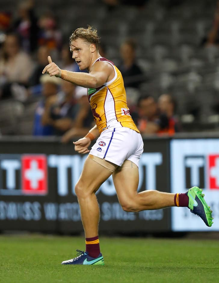 Tom Bell bags a goal against the Dogs - ${keywords}