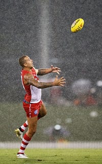 Lance Franklin made a promising return